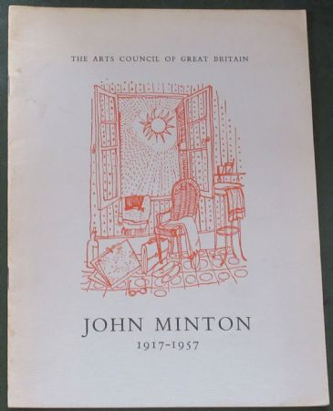 John Minton 1917-1957, An Exhibition of Paintings, Drawings and Illustrations (1958)